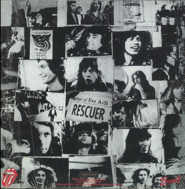 ROLLING STONES    (ローリング・ストーンズ)  - Exile On Main St. (EU Ltd.Reissue 180g 2xLP/New)