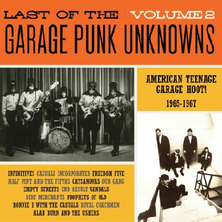 V.A. - Last Of The Garage Punk Unknowns Vol.2 (German Ltd.LP)