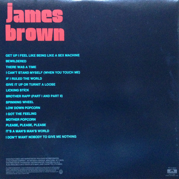 JAMES BROWN (ジェームス・ブラウン)  - Sex Machine (US Ltd.Reissue 2xLP/New)
