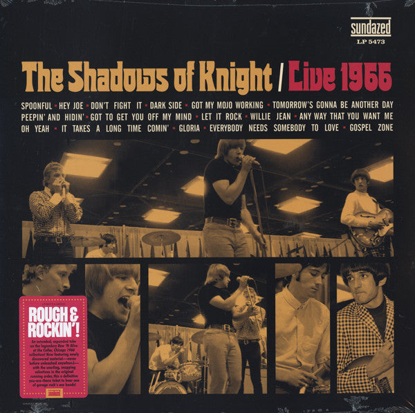 SHADOWS OF KNIGHT - Live 1966 (US Ltd.LP/New)