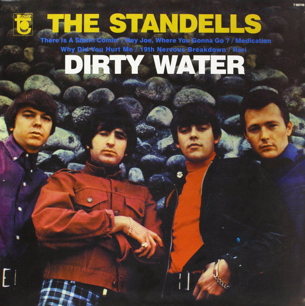 STANDELLS - Dirty Water (EU Ltd.Reissue LP/New)