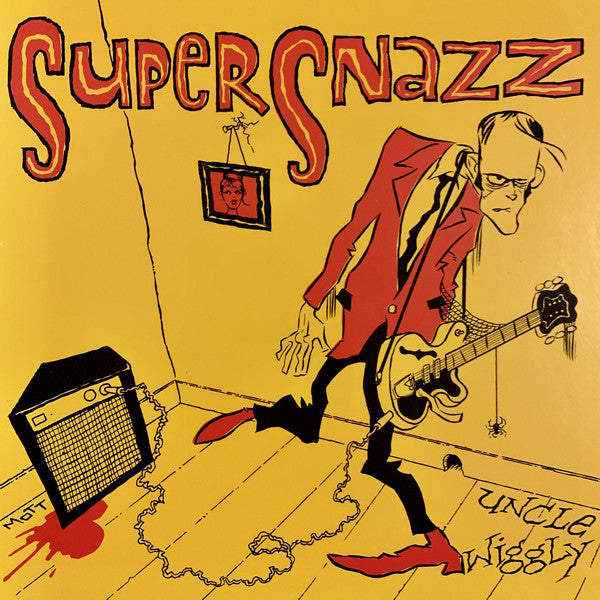 "SUPERSNAZZ (スーパースナッズ)  - Uncle Wiggly / Let It Up (US Ltd.Yellow Marble Vinyl 7""/New)"