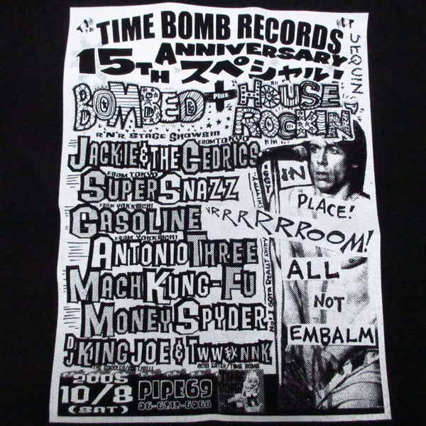TIME BOMB NOVELTY GOODS - 15周年記念トートバッグ(Bombed x House Rockin')