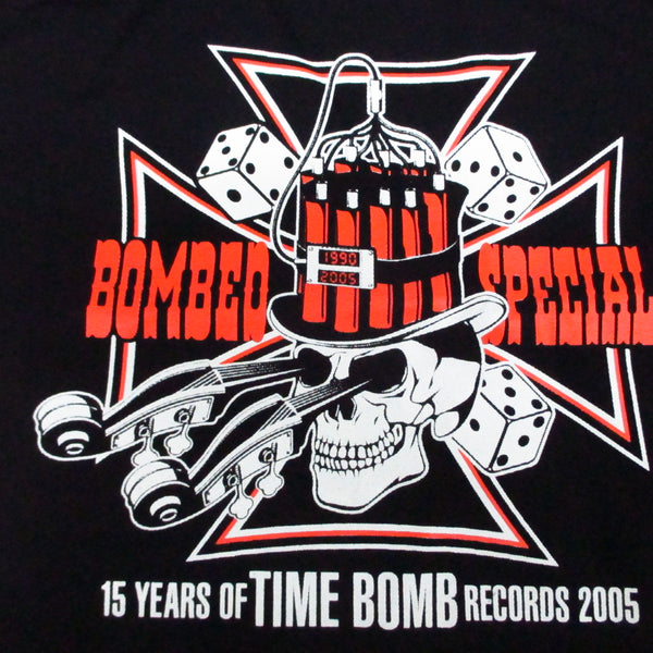 TIME BOMB NOVELTY GOODS - 15周年記念トートバッグ (Rockabilly)