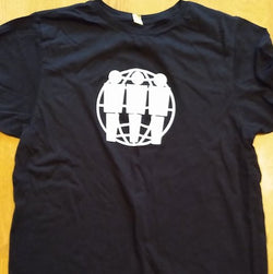 THIRD MAN RECORDS - Logo Men's Black T-Shirt Size M (US Orig.T-Shirt/New)