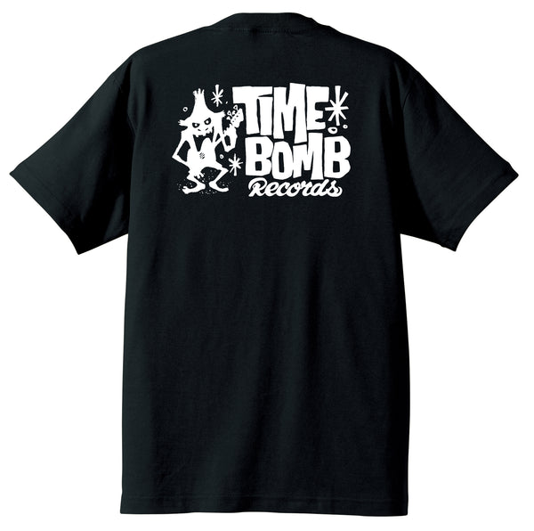 TIME BOMB RECORDS - Timebomb Records Logo T-Shirt(Black Back)