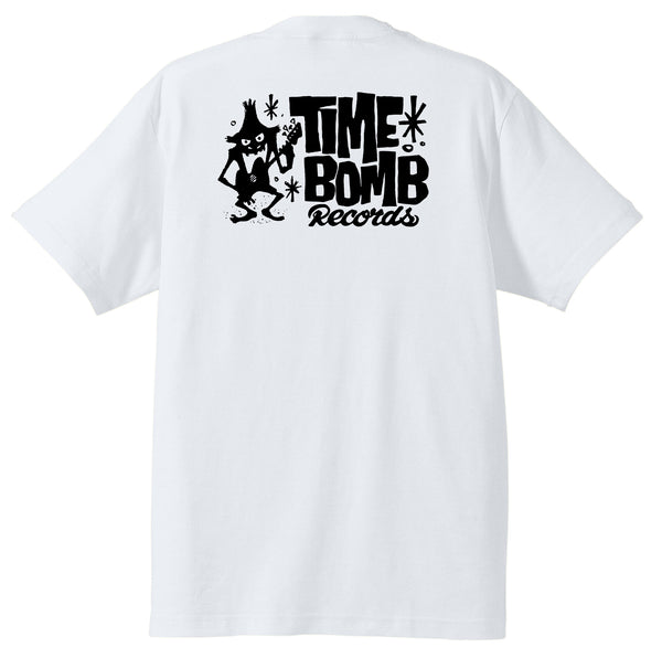 TIME BOMB RECORDS - Time Bomb Records Logo T-Shirt(White Back)
