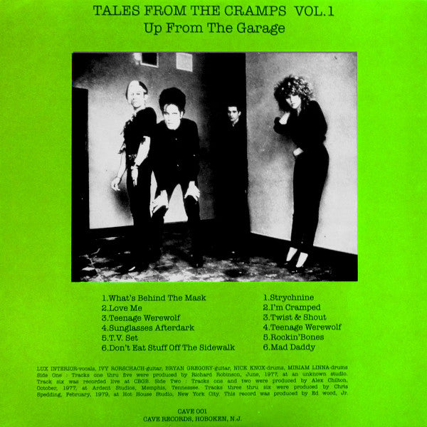CRAMPS (クランプス)  - Tales From The Cramps Vol.1 (EU Unofficial LP/New)