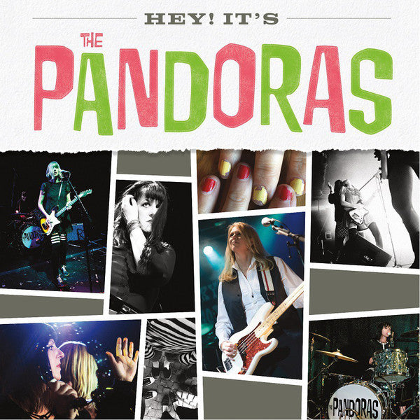 PANDORAS - Hey! It's The Pandoras (US Ltd.Mini LP/New)