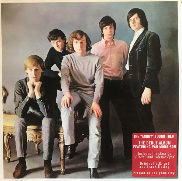 "THEM - ""Angry"" Young Them! (US Ltd.Reissue LP/New)"