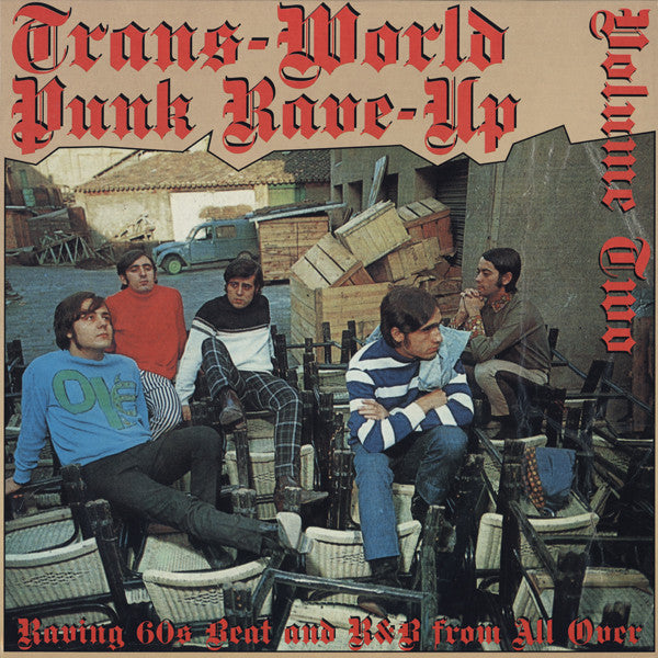 V.A. - Trans-World Punk Rave Up Vol.2 (German Ltd.Reissue LP/New)