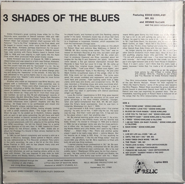 V.A. - 3 Shades Of The Blues (US Orig.LP/New)
