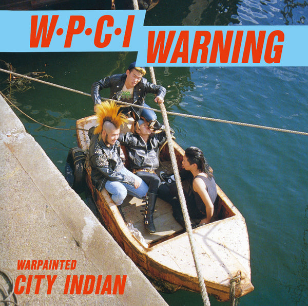 WAR PAINTED CITY INDIAN - Complete Discography (LIMITED LP)