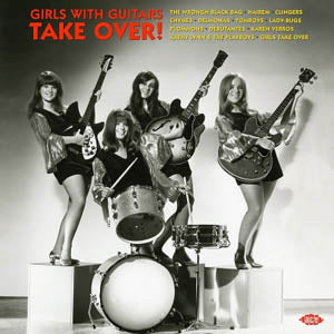V.A. - GIRLS WITH GUITARS TAKE OVER!  (EU Ltd.Red Vinyl LP/New)