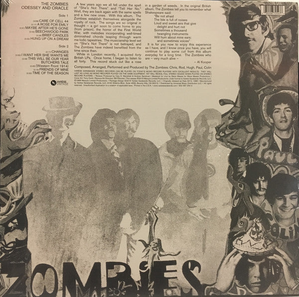ZOMBIES (ゾンビーズ)  - Odessey & Oracle (US Ltd.Reissue LP/New)