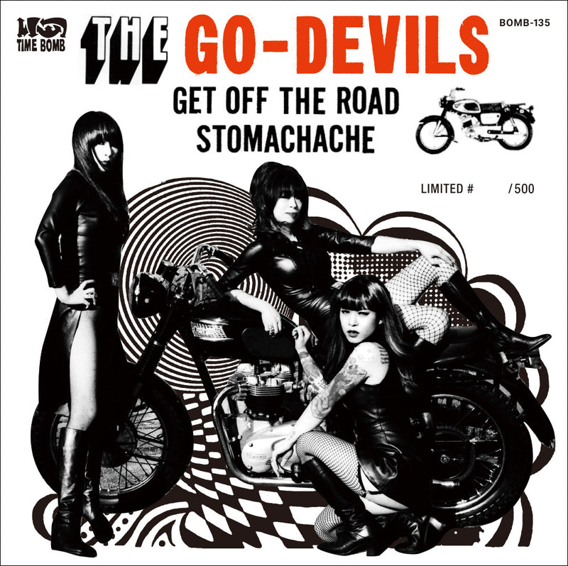 "GO-DEVILS - GET OFF THE ROAD  c/w  STOMACHACHE (500枚限定7"")"