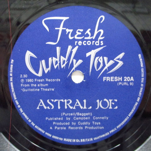 "CUDDLY TOYS - Astral Joe / Slow Down (UK Orig.7"")"