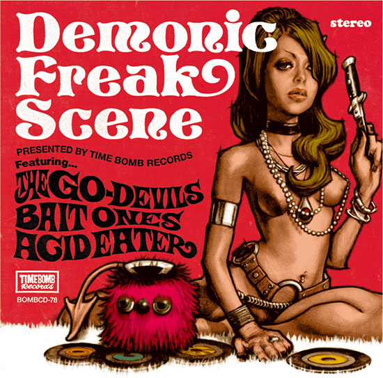 V.A.(ACID EATER/ BAITONES/ GO-DEVILS) - DEMONIC FREAK SCENE (CD)
