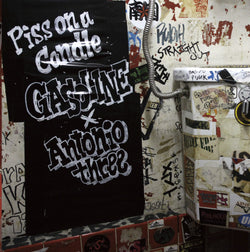 GASOLINE & ANTONIO THREE - Piss On A Candle EP (Split CD)