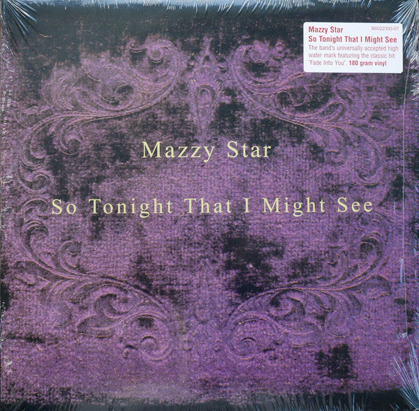 MAZZY STAR - So Tonight That I Might See (Reissue LP/NEW)