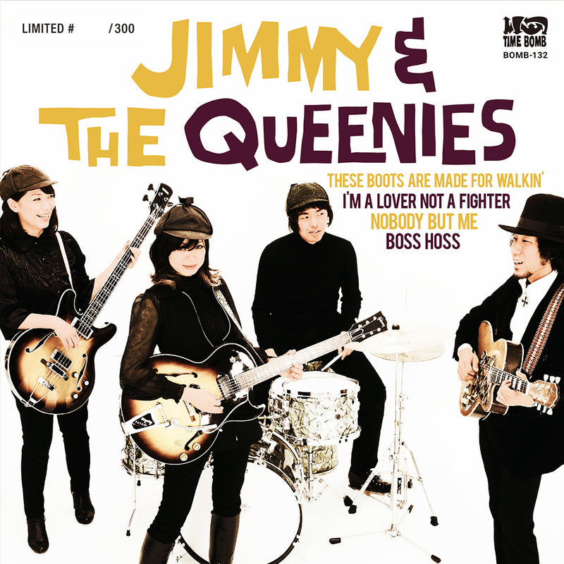"JIMMY & THE QUEENIES - E.P. (500枚限定7"" EP/New)"