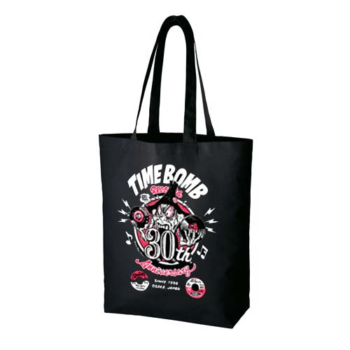 TIME BOMB RECORDS (タイムボム レコード)  - 30th Anniversary Tote Bag (New)