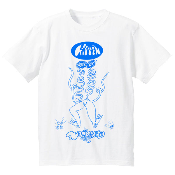 FREE KITTEN / MASQUITO - 1993 Japan Tour T-Shirt (White : L Size Only)