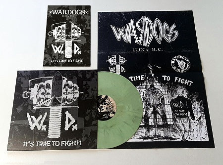 WARDOGS - It's Time To Fight! (Die-Hard Edition LP+Booklet, Poster/New)
