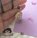 Cinnamon Roll, Cinnamon Bun Necklace