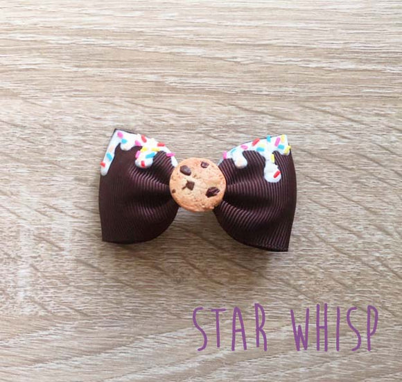 Cookie Ice Cream Hair Bow