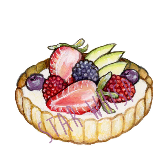 Fruit Tart Mini Print
