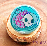 Skullculent Holographic Button