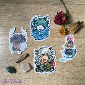Original Art Vinyl Sticker Pack