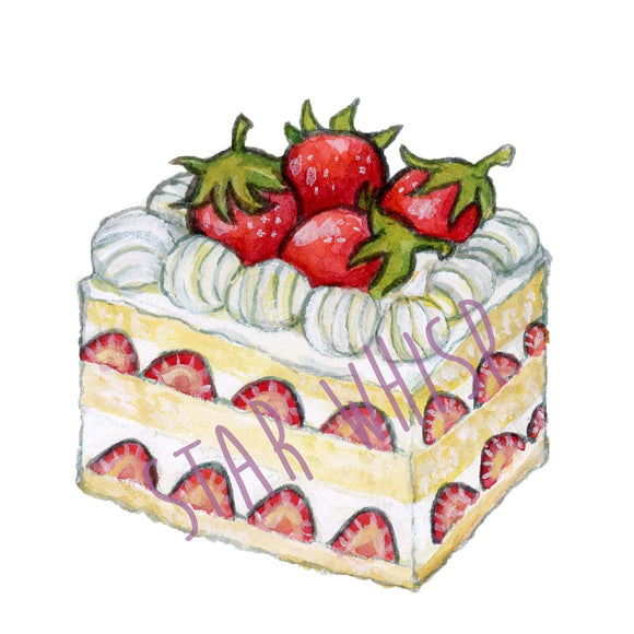 Strawberry Shortcake Mini Print