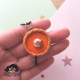 Pumpkin Pie, Sweet Potato Pie Necklace