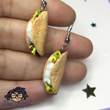 Taco Dangle Earrings