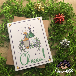 Cheers! Holiday Card, Christmas Card