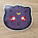 Luna Cat Holo Sticker