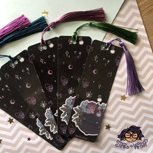 Cottage Core Witch Bookmark