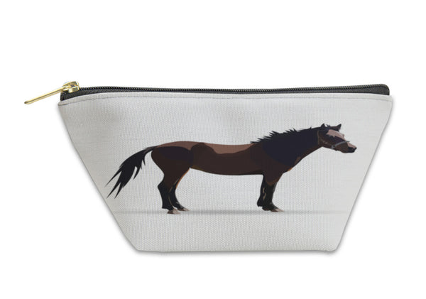 Accessory Pouch, Livestock Horse Illustration Icons Symbols - Paws & Play