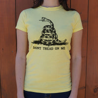 Don't Tread On Me T-Shirt (Ladies) - Paws & Play