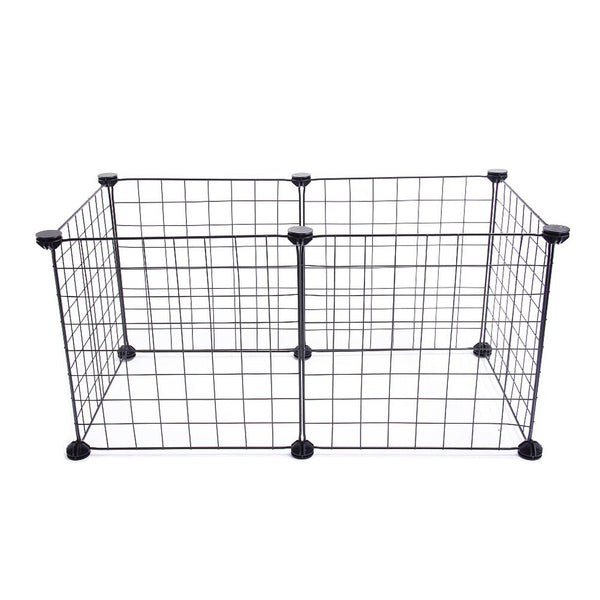 Small Indoor/Outdoor Cage for Puppies - Paws & Play
