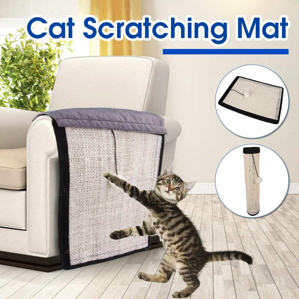 Foldable Cat Scratching Post - Paws & Play