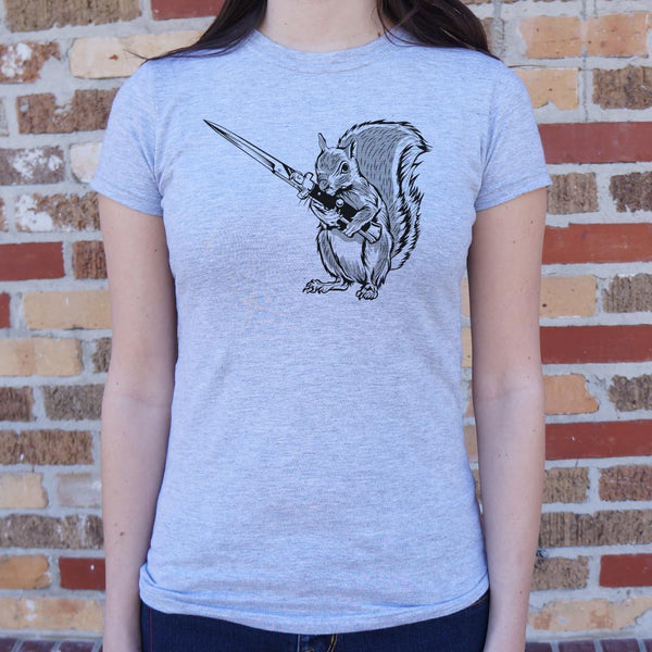 Protect Your Nuts T-Shirt (Ladies) - Paws & Play