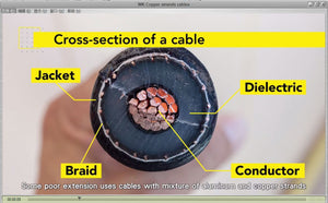 Tips for picking a Reliable Extension Socket 2 Copper strands cables