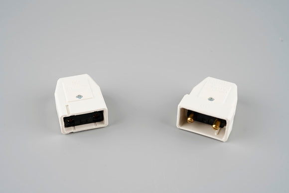 10A 2 pin Plug and Socket Cable Connector