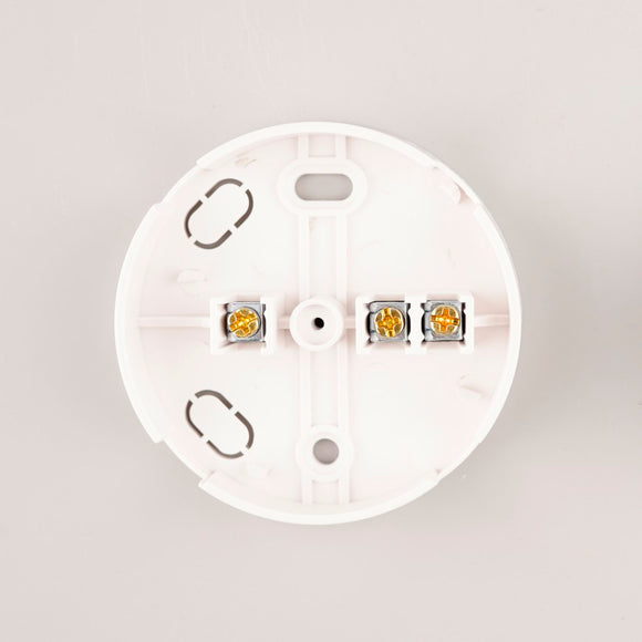 30A 3-Terminals Junction Box White