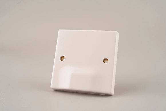 ASTA 45A Connection Plate White