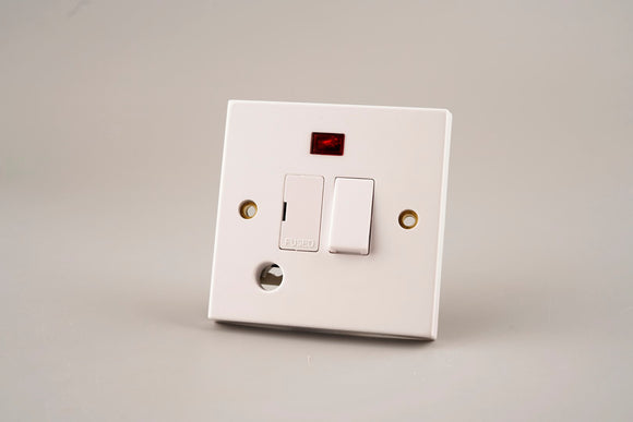 ASTA 13A Switched Fused Spur Unit with Neon and Flex Outlet