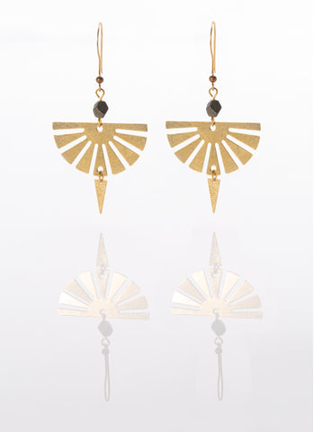 Tamara Fan Earrings